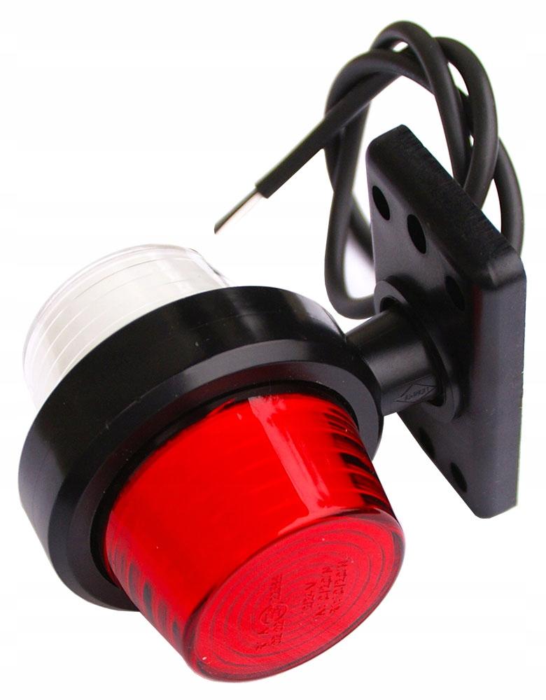 лампа габаритный obrysówka рогова leda 1224v