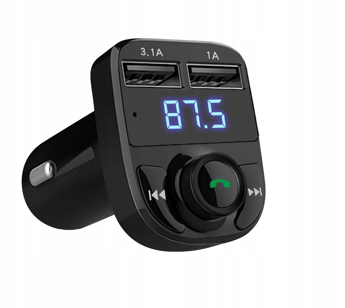Item FM transmitter Bluetooth MP3 SD Charger 2xUSB