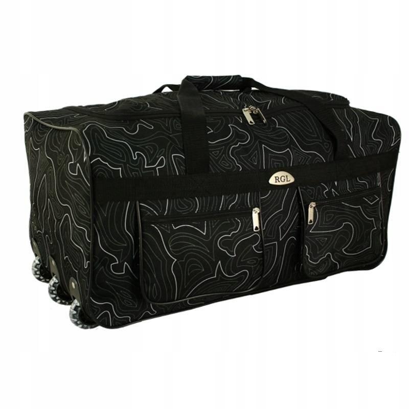 A2 DUŻA TORBA PODRÓŻNA 3x KÓŁKA BAGAŻ walizka 125L