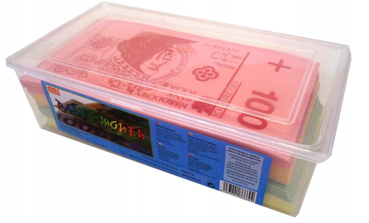 Sladké Jedáleň Papierové Bankovky Dolár 200 Ks
