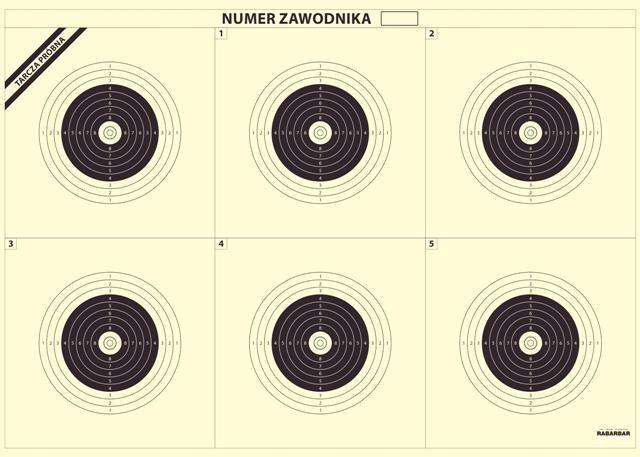 Disky streľba TS-1 x6 (Sniper 100m) 50 Ks.