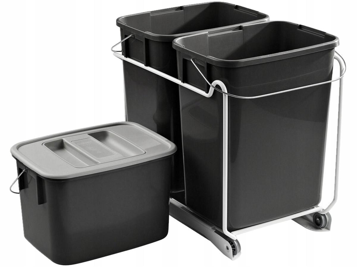5-prvkový kontajner na triedenie odpadu