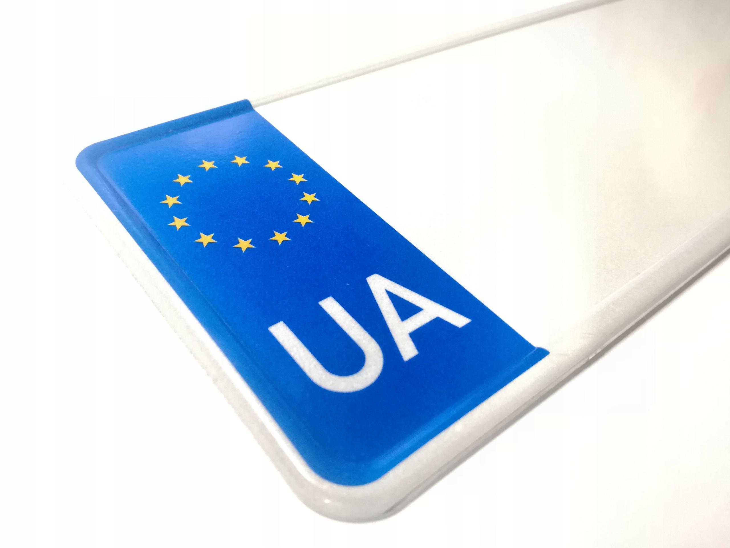 Tablica Rejestracyjna Ua Ukraina Ukrainska Radomsko Allegro Pl