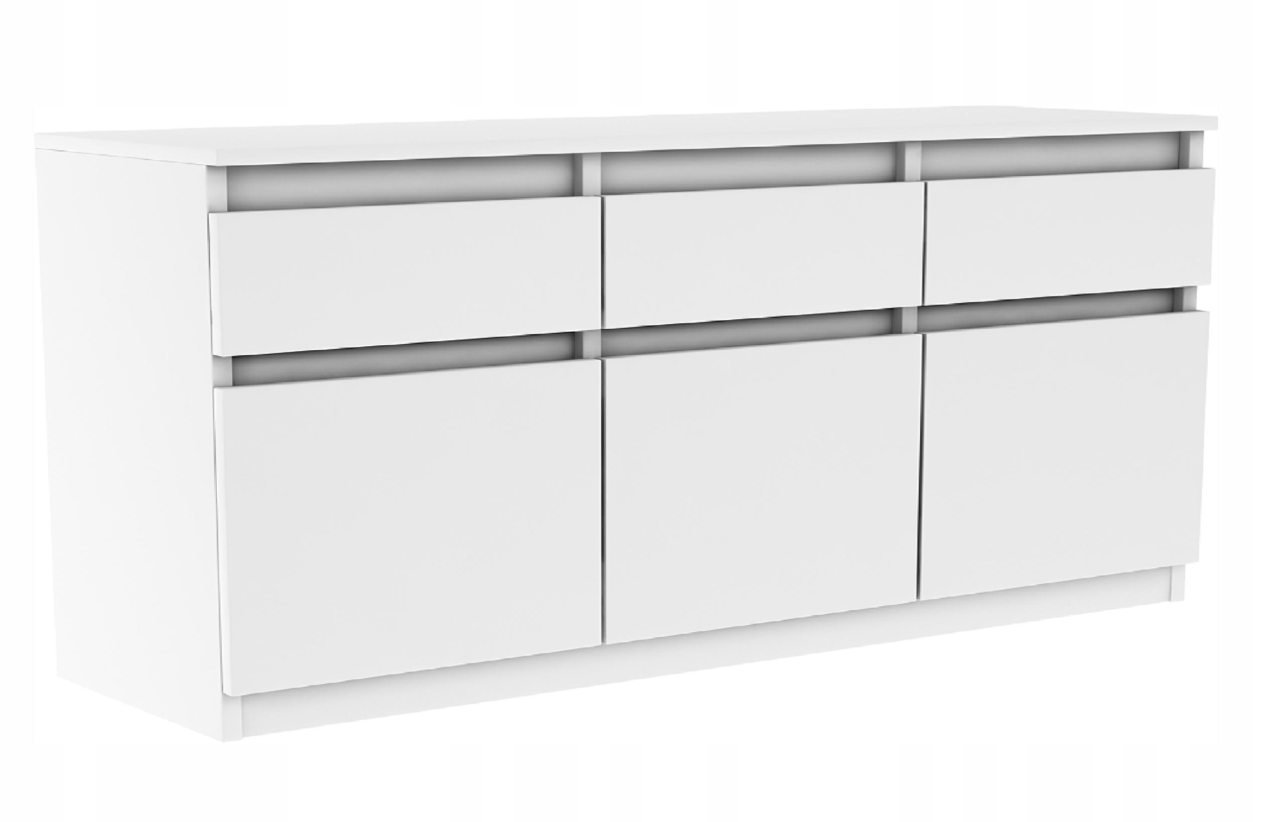 Современный Комод ОЛА 120см. Вместительный шкаф 3d/3sz