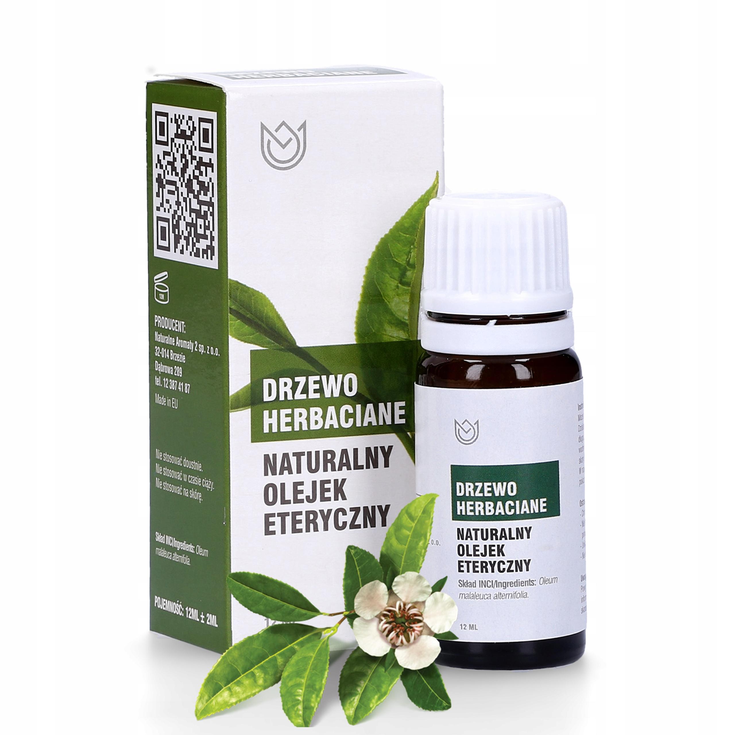 Naturalny Olejek Eteryczny Drzewo Herbaciane 12ml