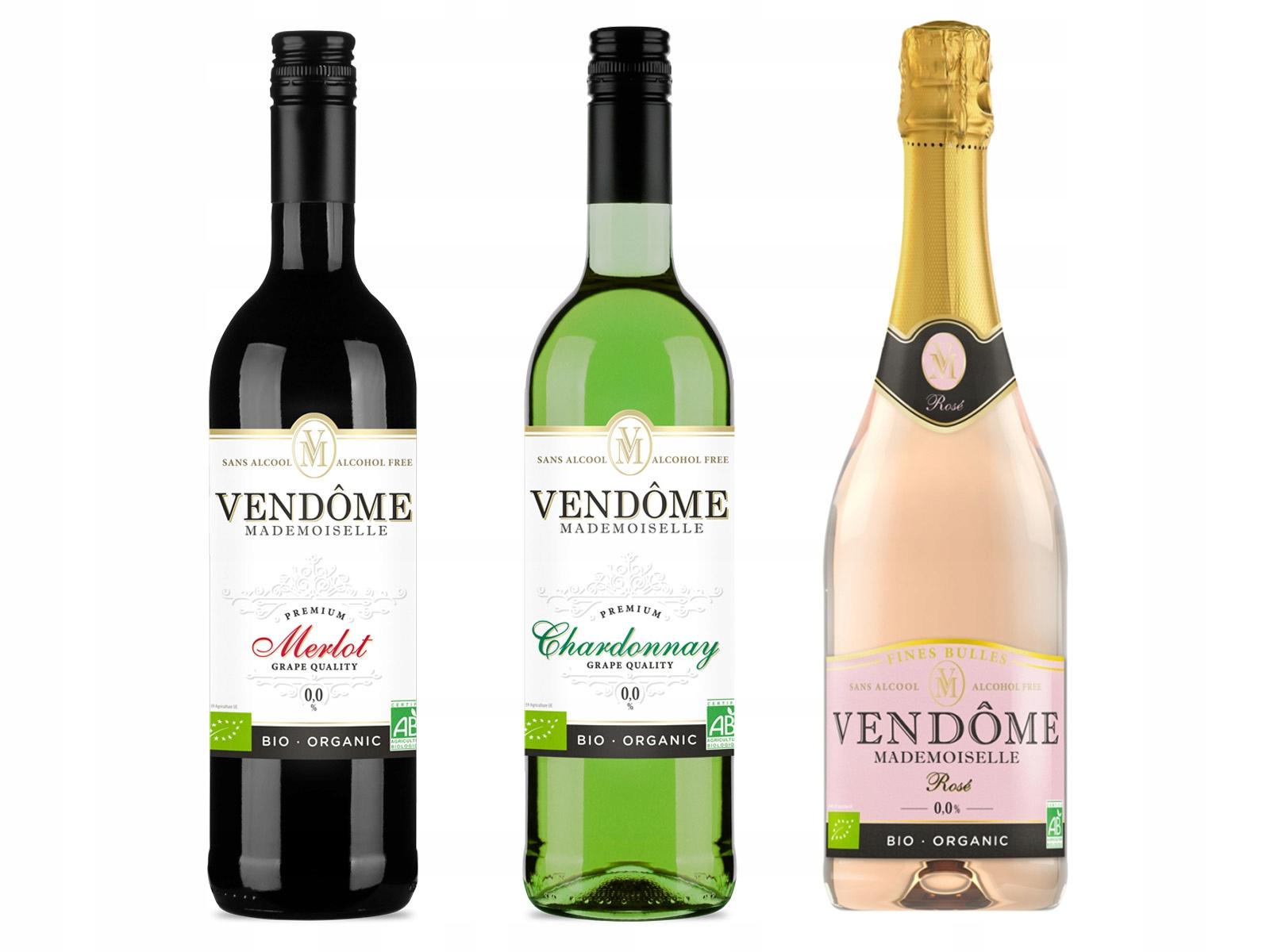 Nealkoholické víno, 3 x Vendome Miss 0%