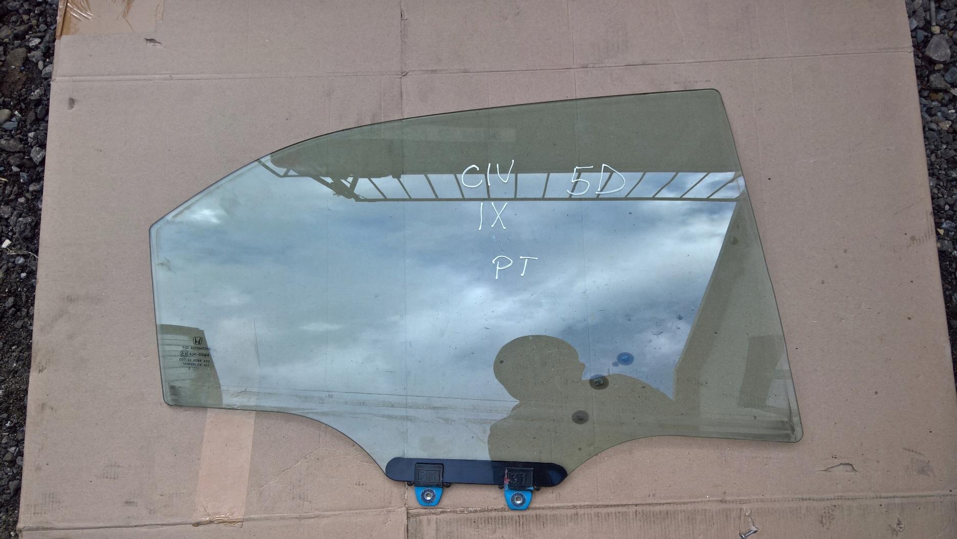 стекло права мост правый сзади honda civic ix 5d