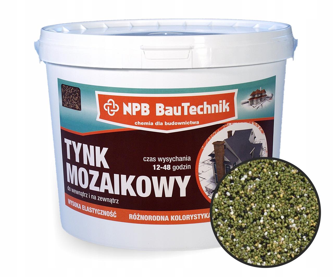 NPB Dekoracyjny Tynk Mozaikowy Żywiczny N63