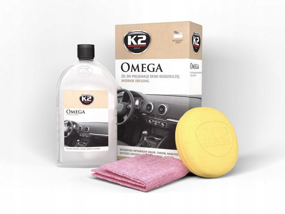 K2 OMEGA 500 мл Гель для кабины пластик НАБОР 3 в 1