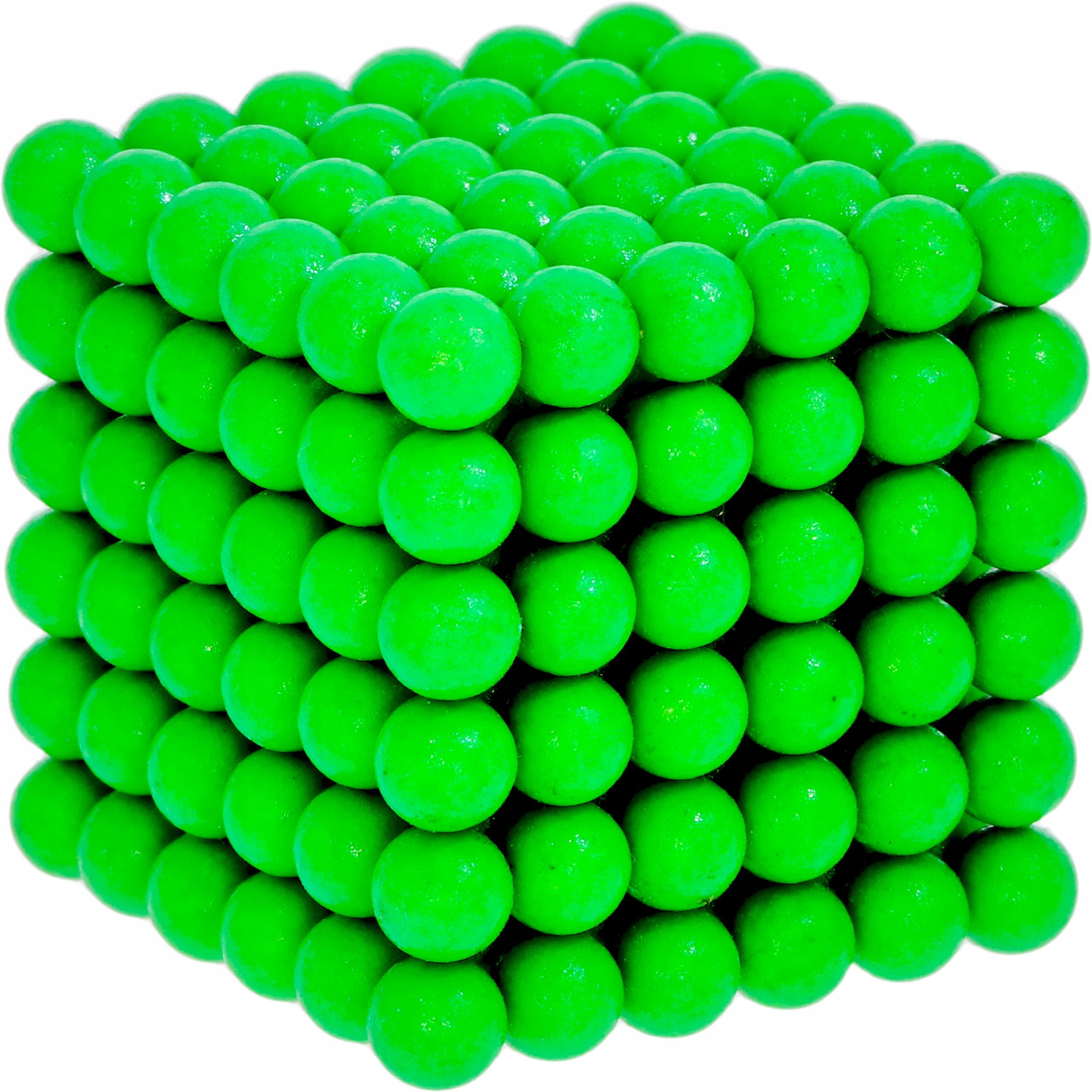 Magnetické gule NeoCube 216 ks, 5 mm Fluo