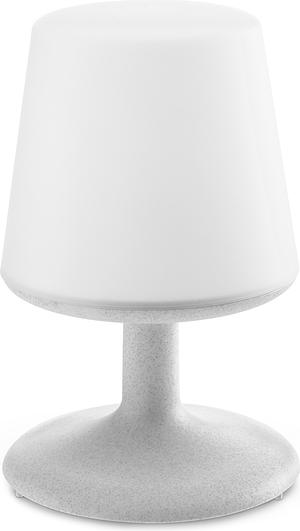 Lampa bezdrôtový powerbank Organické sivá Koziol