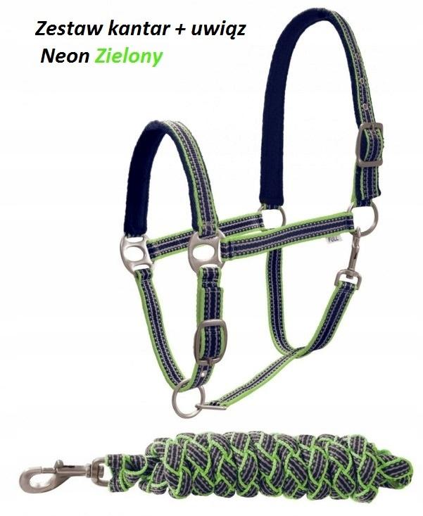Комплект недоуздок FULL Tether для лошади Неоновые цвета