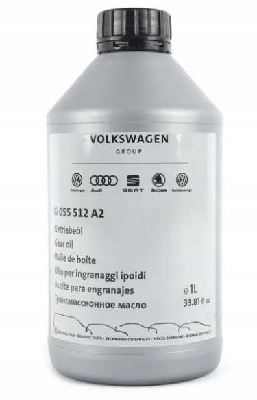 масло коробки передач vw audi seat skoda g052 g055