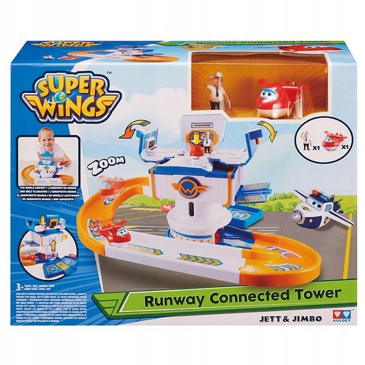 Riadiaca veža Super Wings