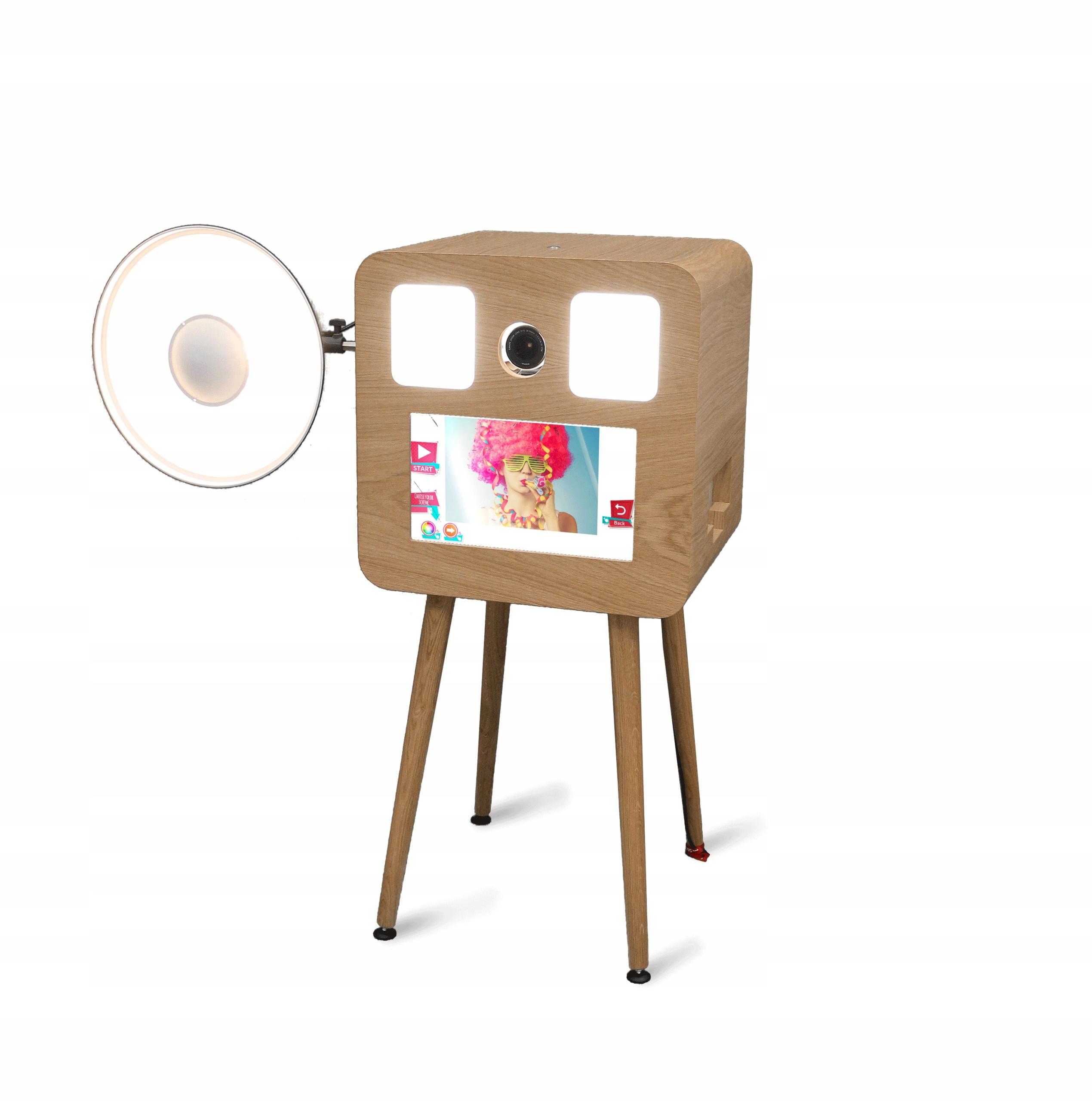 Retro fotobúdka - drevená SMOVE FBOX RETRO