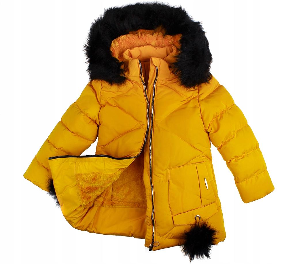 BUNDA žltá BUNDA zimná SRSŤ camel 12 146/152