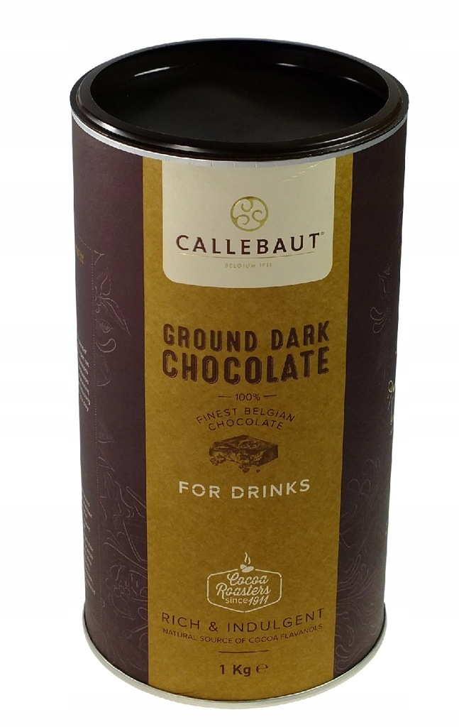 Čokoláda na pitie Zem 1kg CALLEBAUT Tmavé Choco