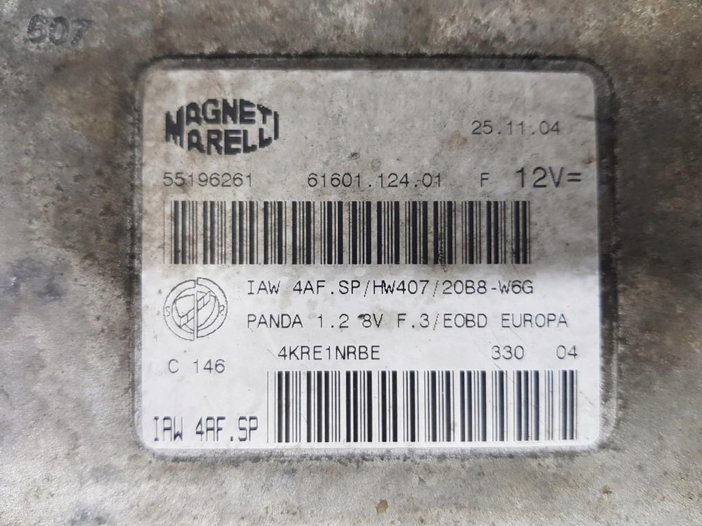 компьютер fiat панда iaw4afsp чистый без кода