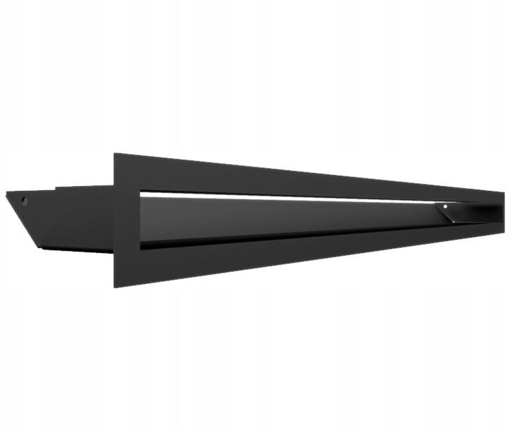 # КАМИННАЯ РЕШЕТКА камина LUFT 60x800 черный
