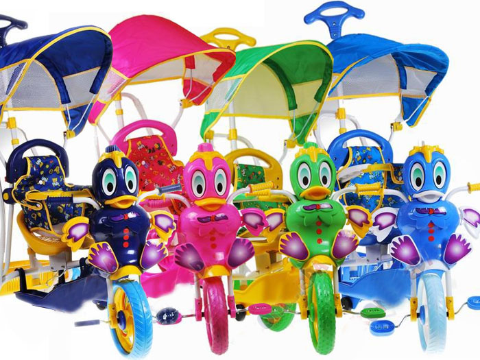 Bujany Dziecięcy rowerek Miękkie koła RO0024 Kolor Różowy