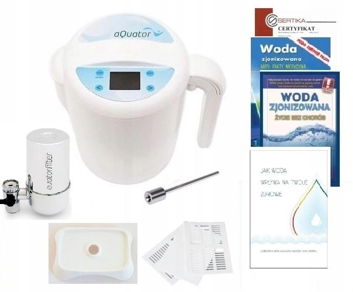 Jonizator wody AQUATOR SILVER Plus 2020, 3 litry