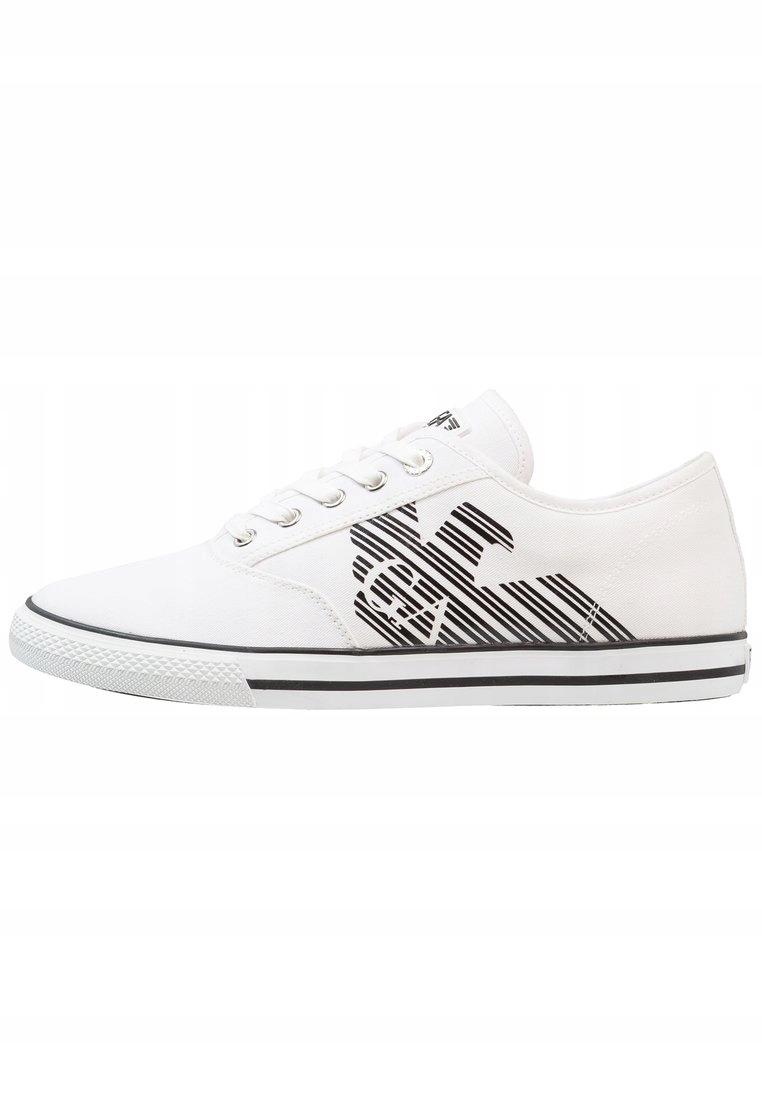 Topánky EMPORIO ARMANI biele tenisky R. 38 2/3 25 cm