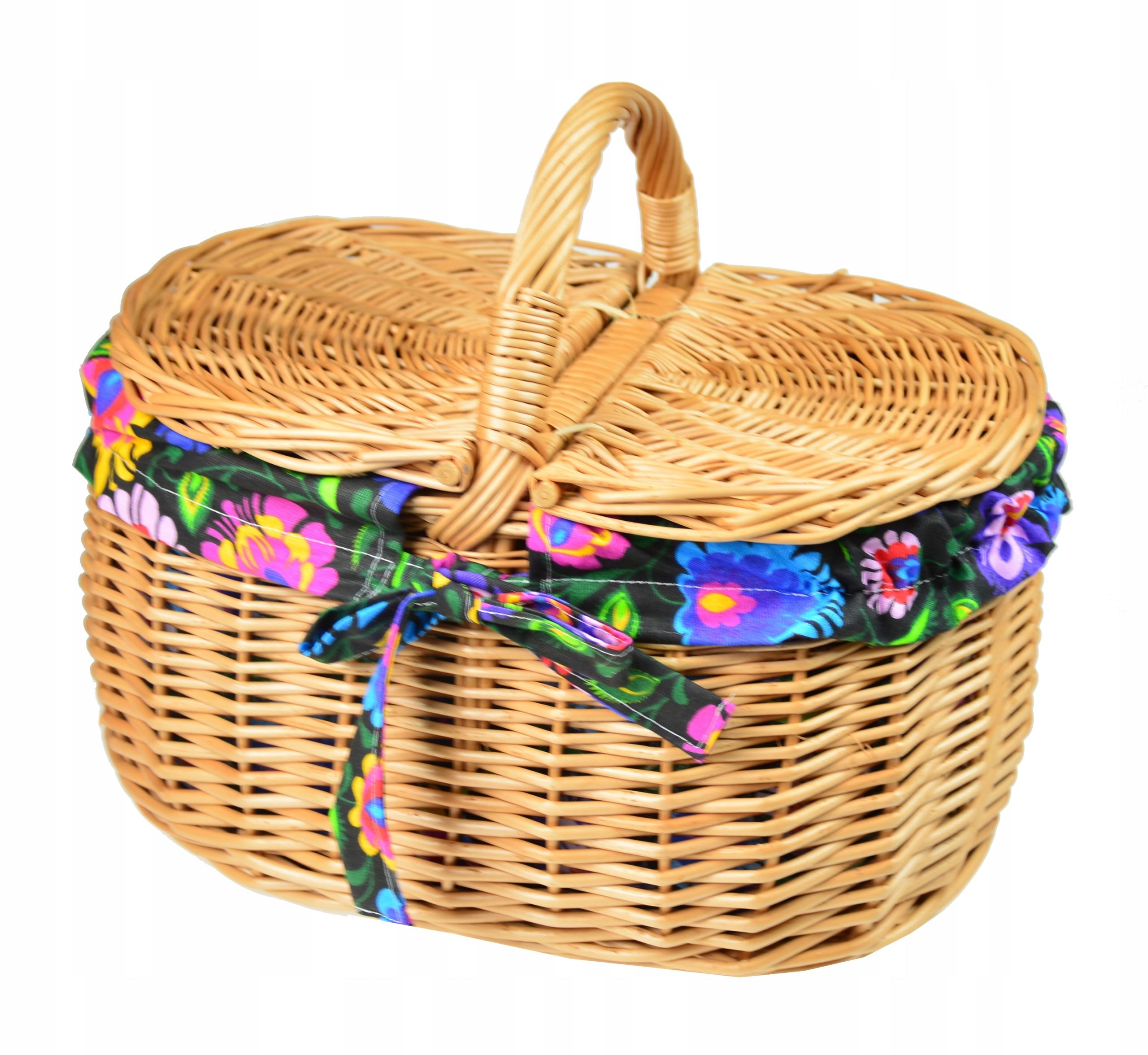 PICNIC BASKET плетеная корзина для пикника размер. Л.
