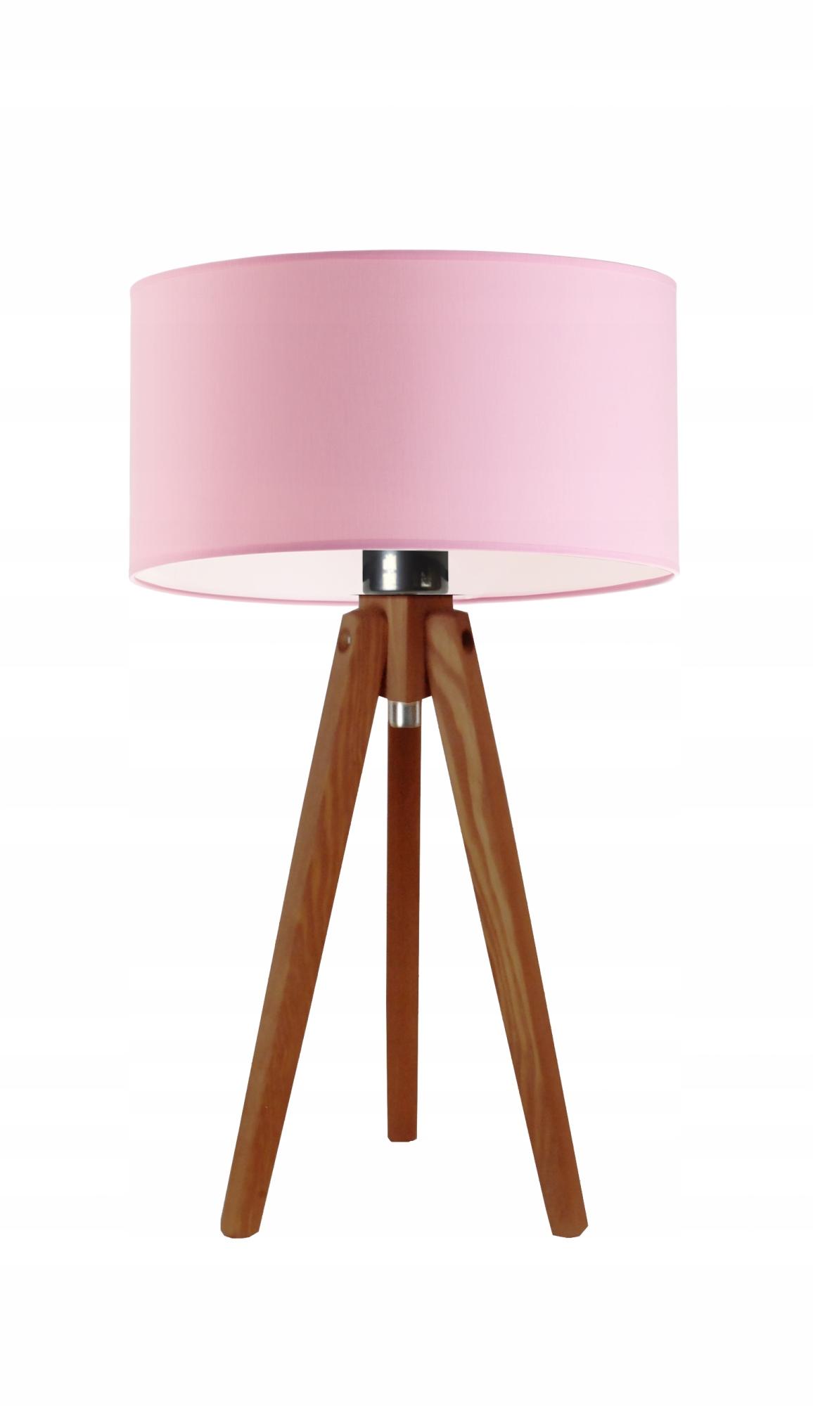 Drevo Lampa noc Stôl Rýchlosť 24 m/hot pink