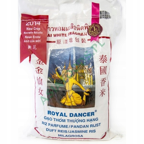 RYŻ JAŚMINOWY ROYAL DANCER 4,54KG Tajski PREMIUM