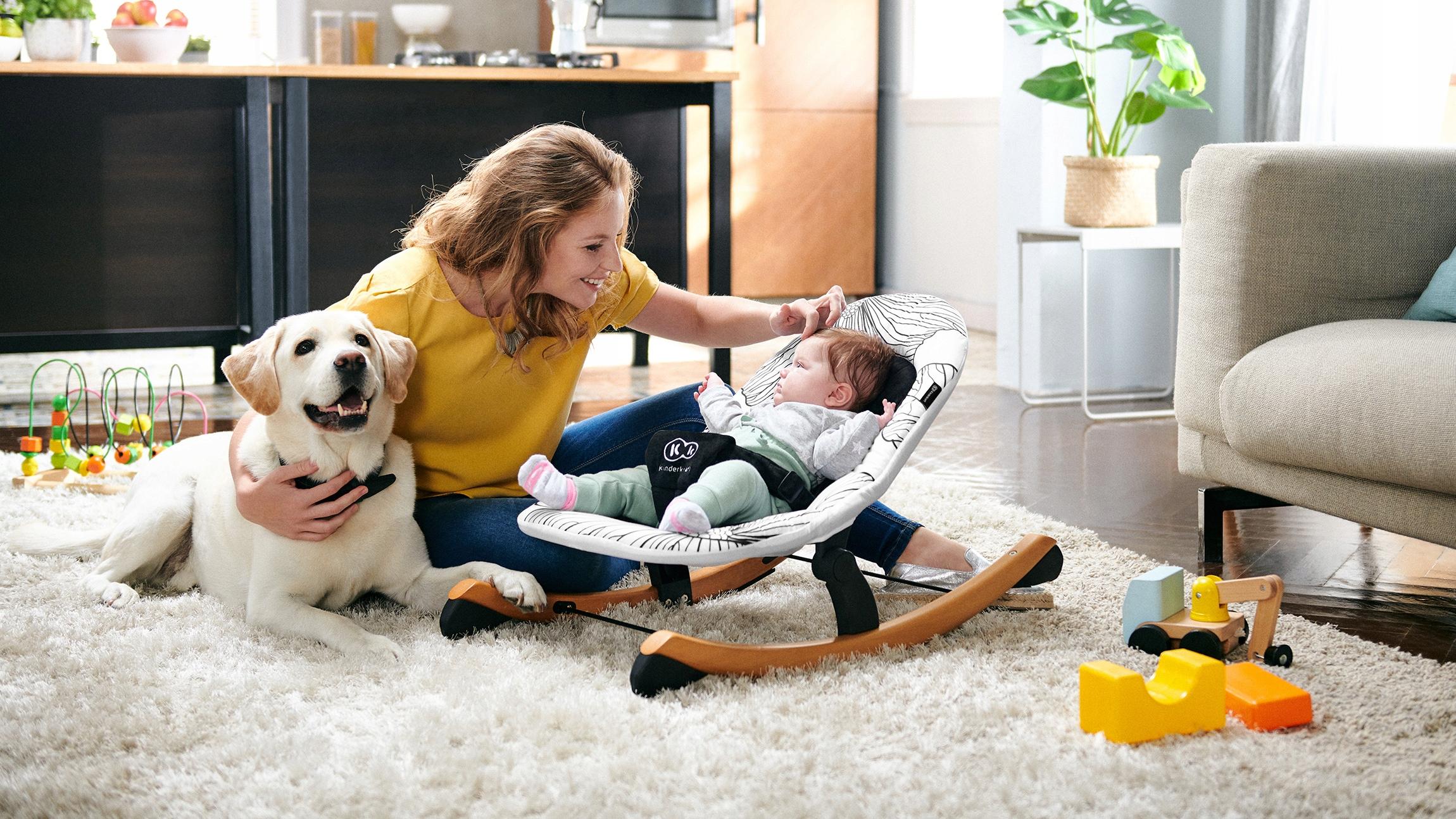 Кресло-качалка Стульчик для кормления Киндеркрафт Кресло вес 5.1 кг