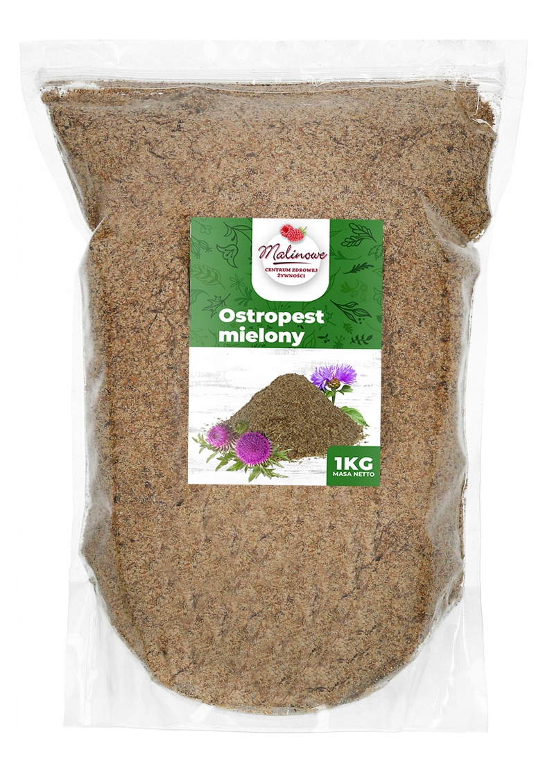 Item The 1kg GROUND milk THISTLE HIGH QUALITY