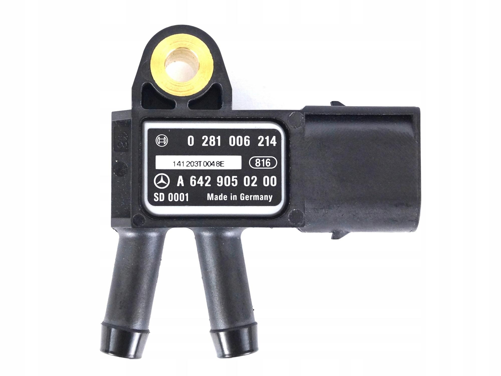 датчик давления выхлопных газов mercedes sprinter 906 cdi