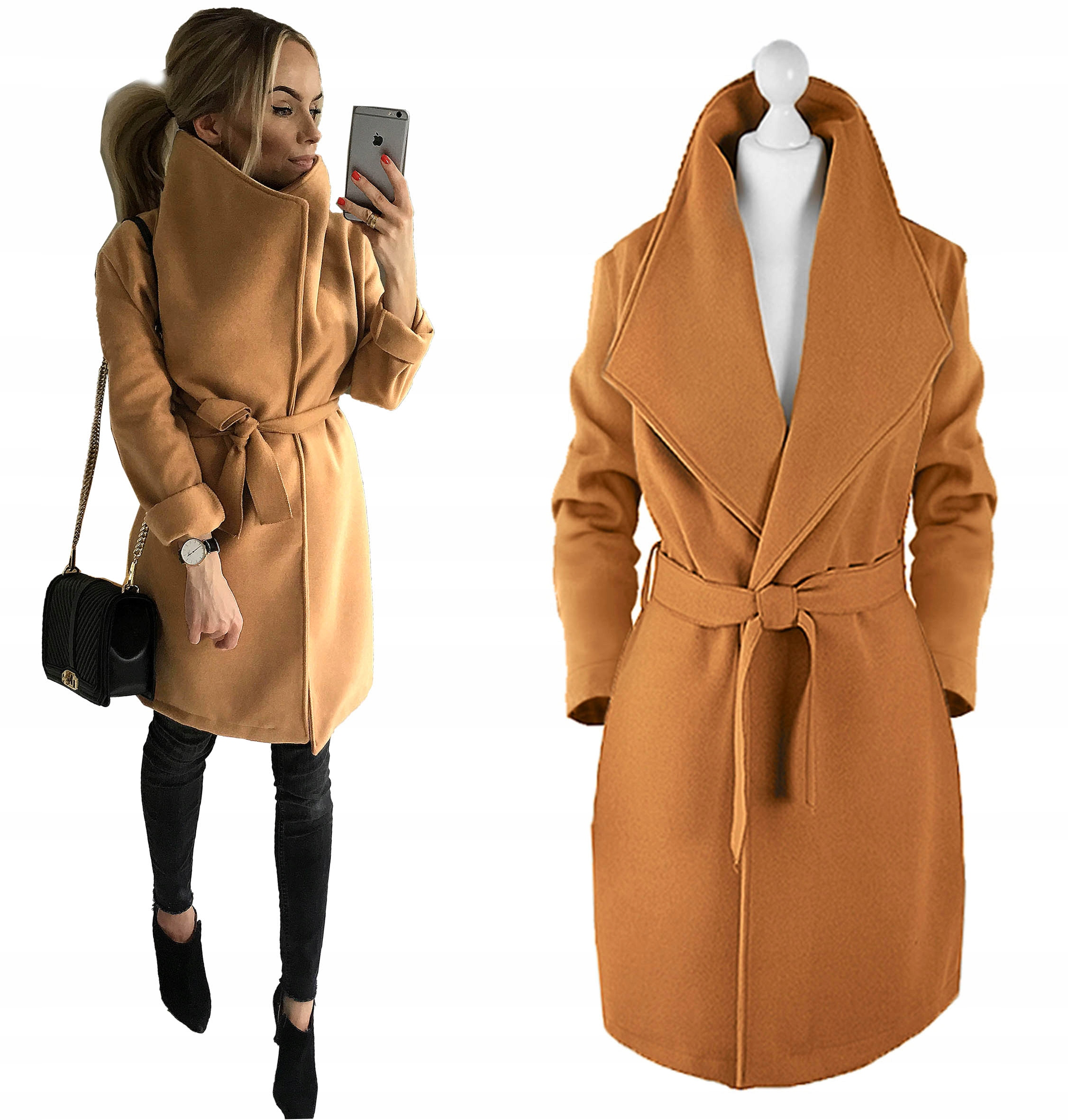 Флис AWANTI с узором в виде женского пальто