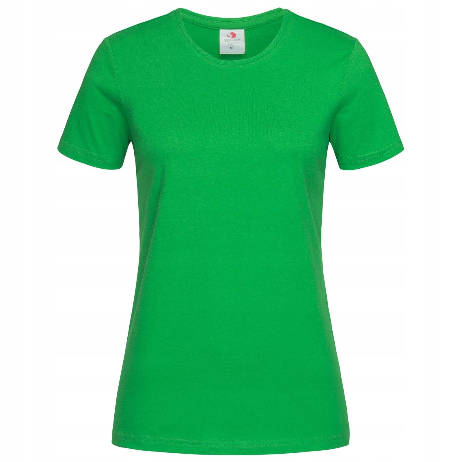 Koszulka T-shirt Stedman Classic Damska Zielony M