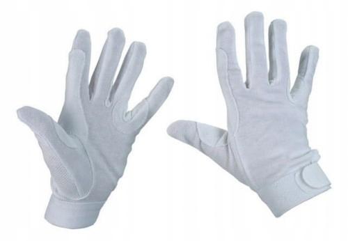 Купить Белые хлопковые перчатки Covalliero XS на Otpravka - цены и фото - доставка из Польши и стран Европы в Украину.