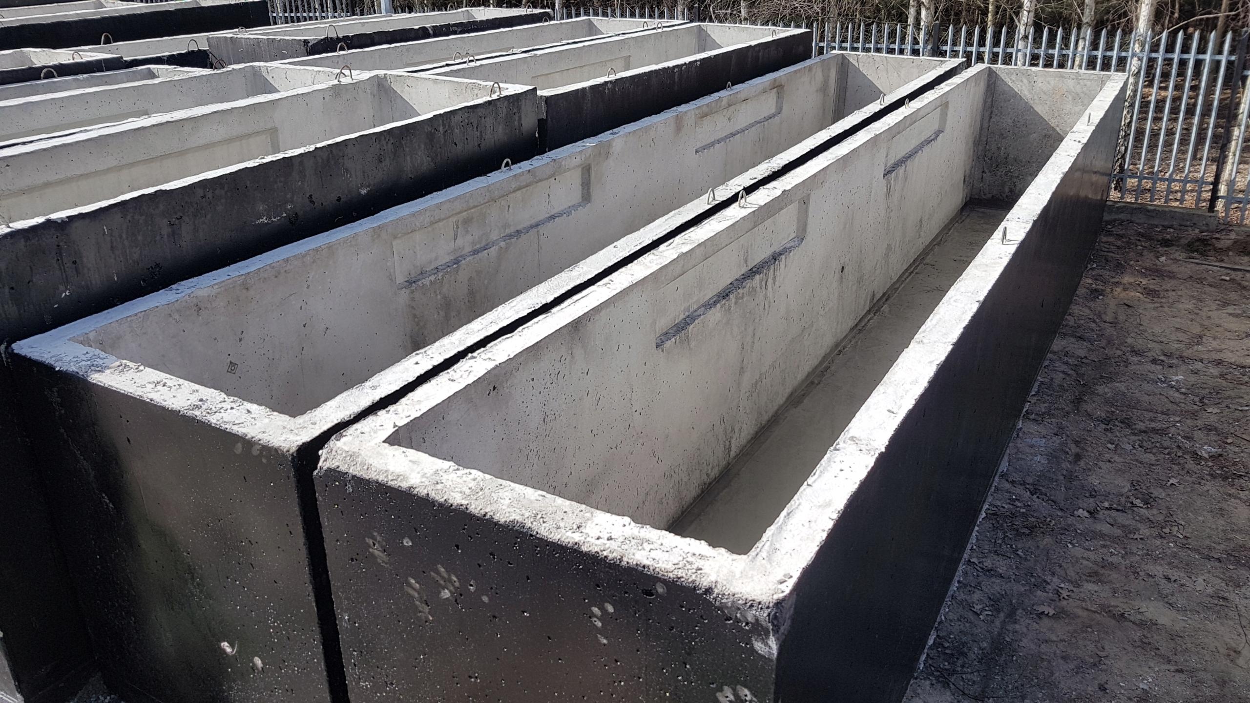 Item Channel car sealed concrete d 8 TIR