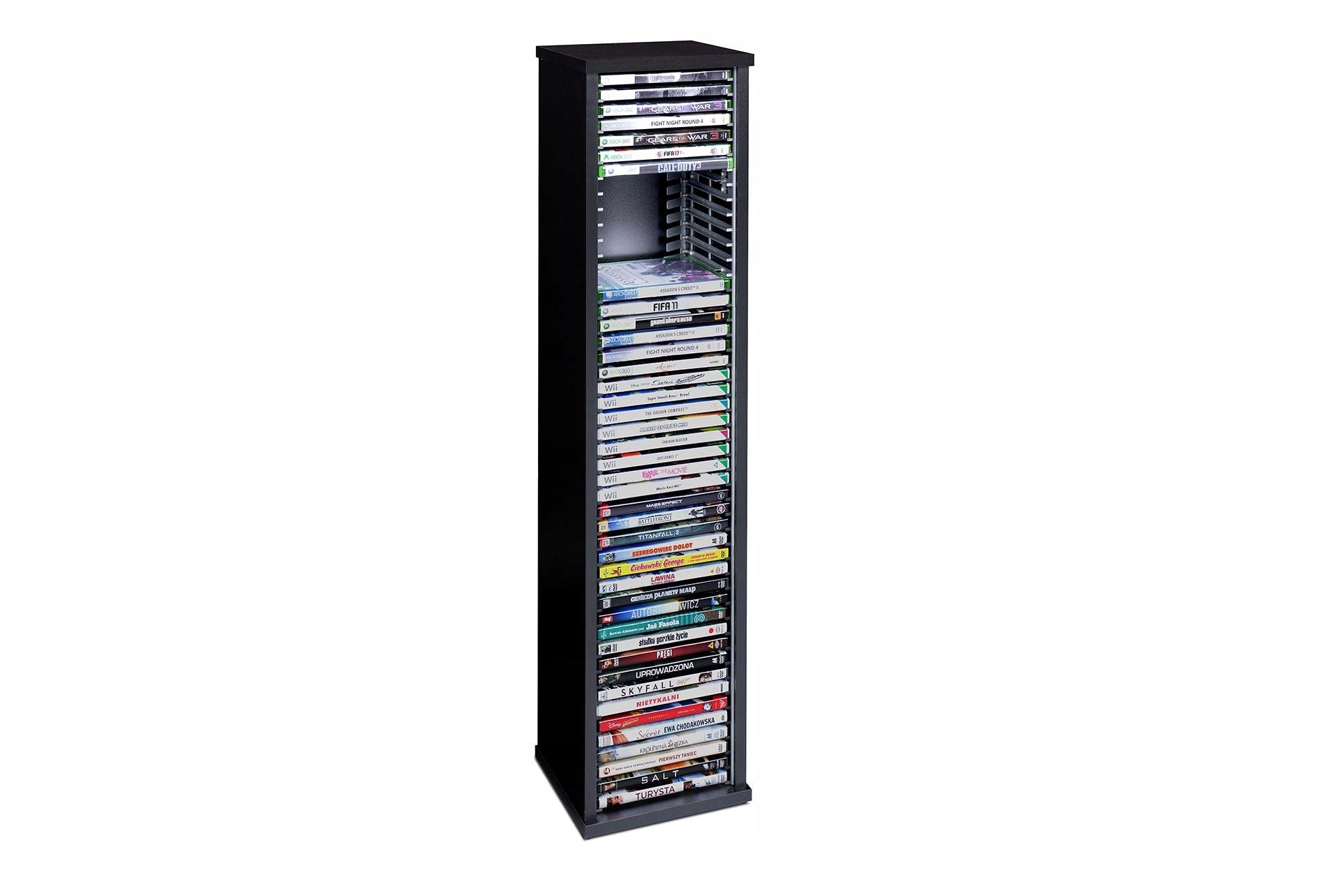 Stojan pre DVD Filmy Xbox 360 Wii PC 45 Disky