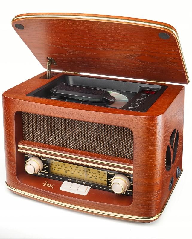 Dvojité Č. 1, rádio, CD prehrávač