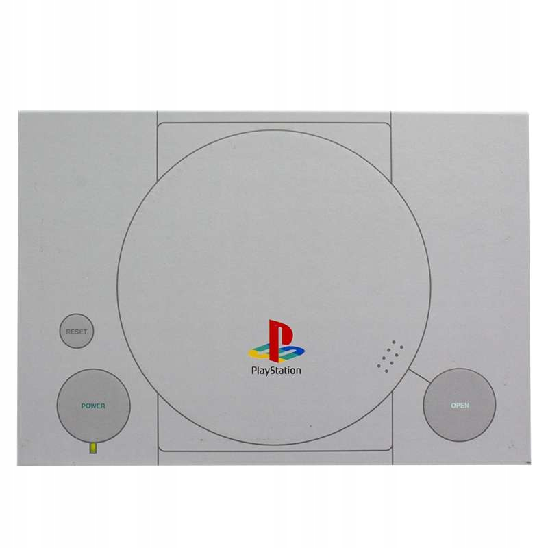 Item Notepad Notebook Style Playstation PS