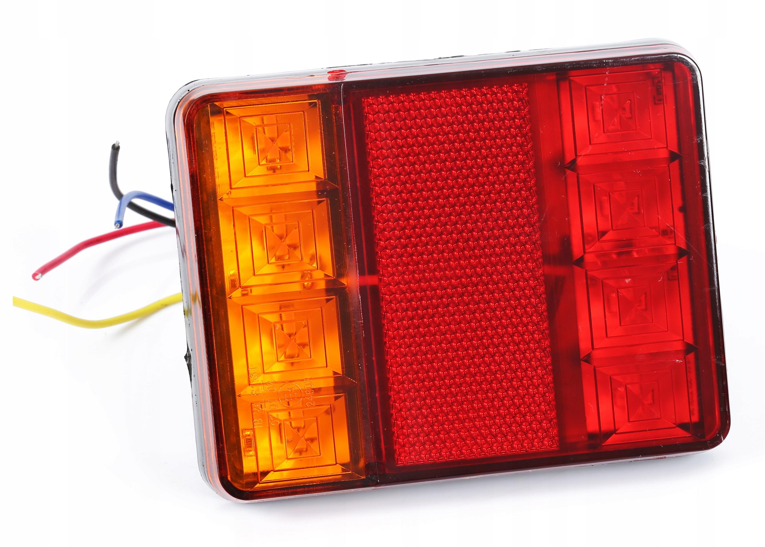 лампа мост прицепа фонарь led диодов 12v