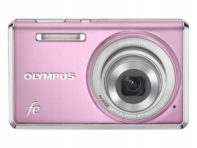 """Купить OLYMPUS fe-4030 PINK 4xZoom 14Mpx 2.7"""" 4,7-18,6mm на Otpravka - цены и фото - доставка из Польши и стран Европы в Украину."""