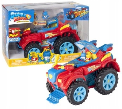 MAGIC BOX SUPERZINGS S HERO TRUCK MONSTER ROLLER