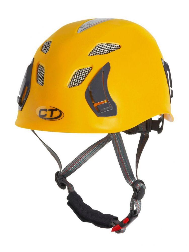 Horolezecká prilba žltá Climbing Technology stark