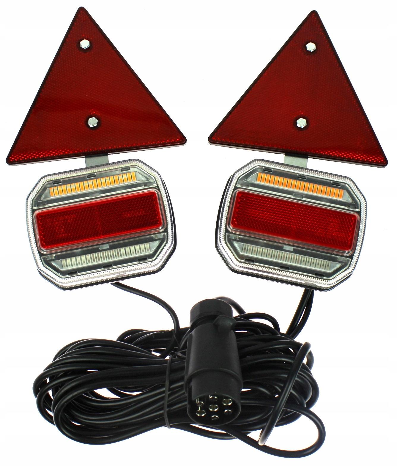 лампа мост led динамический направление магнит треугольник