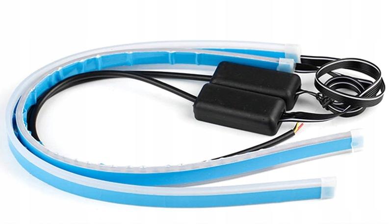 лента led drl течет динамические фонарь указателя поворота 60