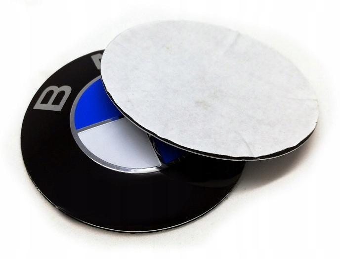 Алюминиевая наклейка для колпака BMW 68мм