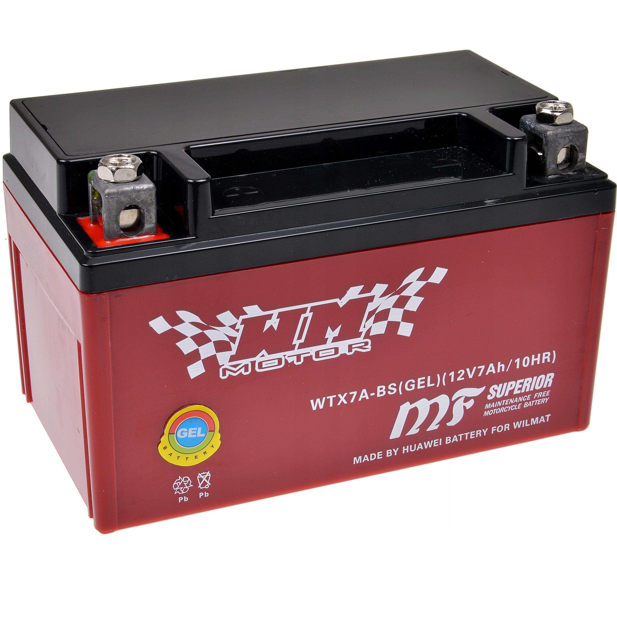 Akumulator Zelowy Ytx7a Bs 12v 7ah Quad Atv 125 15 Lublin Allegro Pl