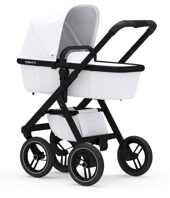 DUBATTI - Rám vozíka čierna / čierna rukoväť