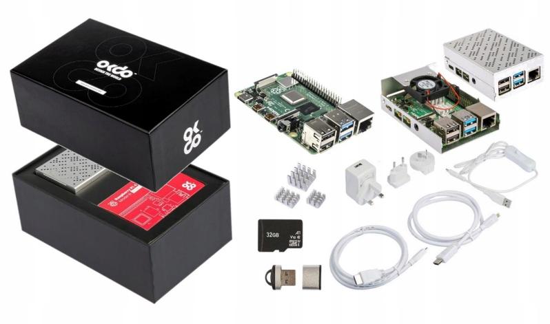 Zestaw Raspberry Pi 4b Wifi 4gb Ram Akcesoria Sklep Komputerowy Allegro Pl