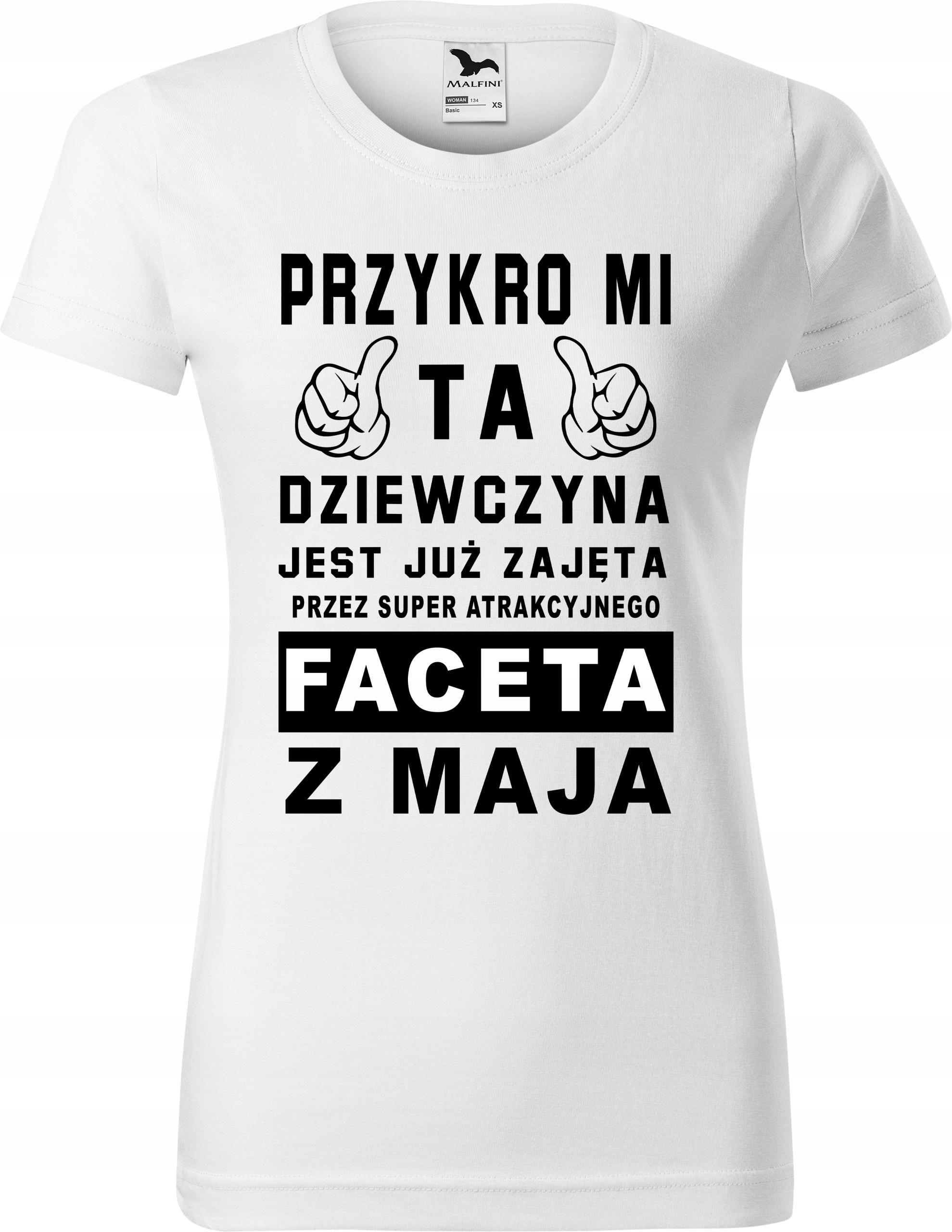 Koszulka Ta Dziewczyna Jest Juz Zajeta Prezent S 7551825487 Allegro Pl